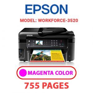 Workforce 3520 6 - Epson Printer