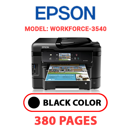 Workforce 3540 2 - EPSON Workforce_3540 - BLACK INK
