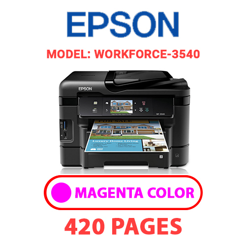 Workforce 3540 3 - EPSON Workforce_3540 - MAGENTA INK