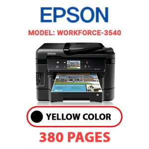 Workforce 3540 - Epson Printer