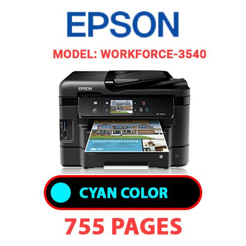 Workforce 3540 6 - EPSON Workforce_3540 - CYAN INK