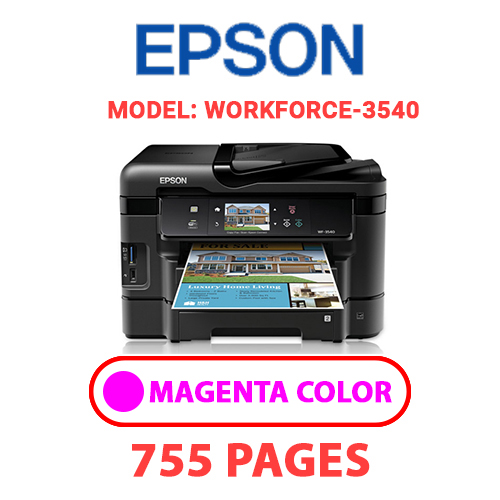 Workforce 3540 7 - EPSON Workforce_3540 - MAGENTA INK