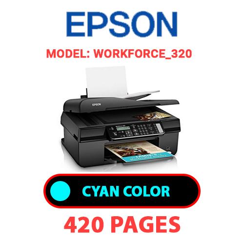 Workforce 320 1 - EPSON Workforce_320 - CYAN INK