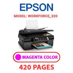 Workforce 320 2 - Epson Printer