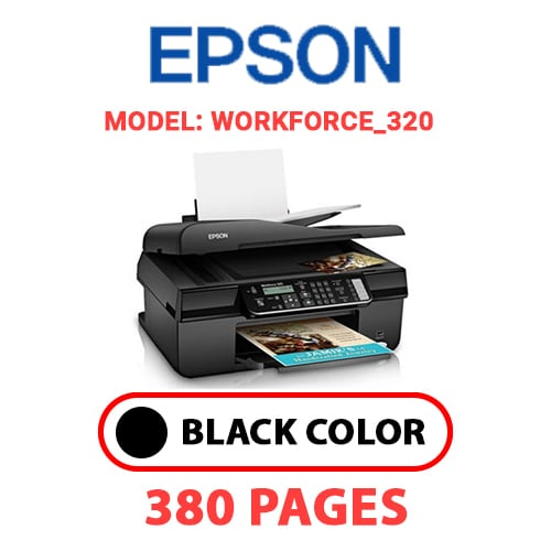 Workforce 320 4 - EPSON Workforce_320 - BLACK INK