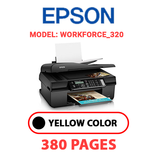 Workforce 320 - EPSON Workforce_320 - BLACK INK