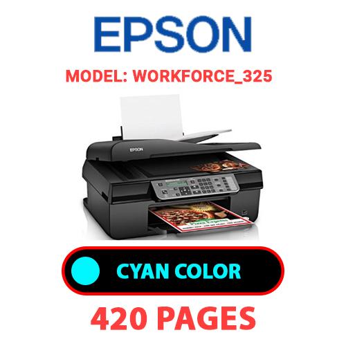 Workforce 325 1 - EPSON Workforce_325 - CYAN INK
