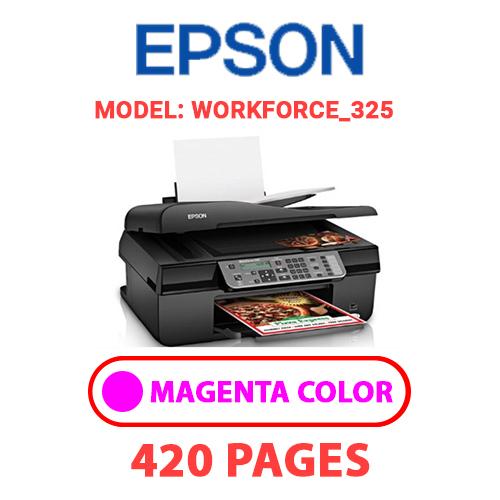 Workforce 325 2 - EPSON Workforce_325 - MAGENTA INK