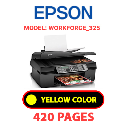Workforce 325 3 - EPSON Workforce_325 - YELLOW INK