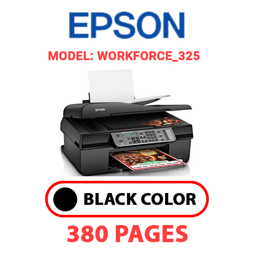 Workforce 325 4 - EPSON Workforce_325 - BLACK INK