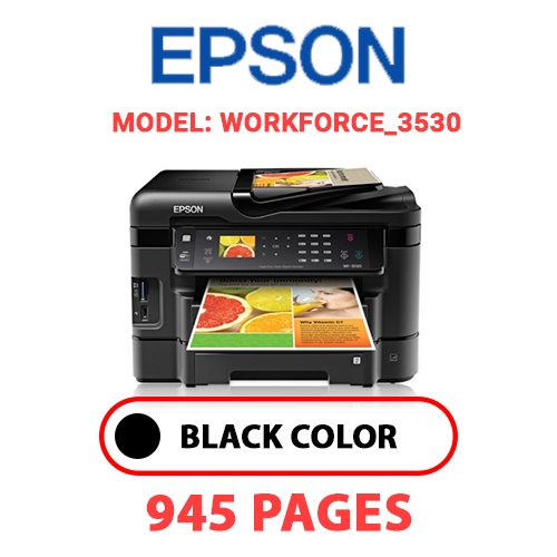 Workforce 3530 - EPSON Workforce_3530 - BLACK INK