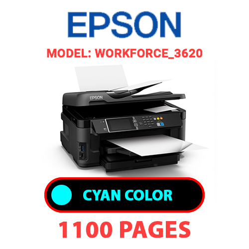 Workforce 3620 2 - EPSON Workforce_3620 - CYAN INK