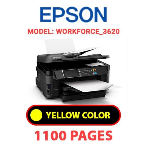 Workforce 3620 4 - EPSON Workforce_3620 - YELLOW INK