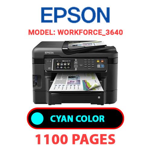 Workforce 3640 2 - EPSON Workforce_3640 - CYAN INK