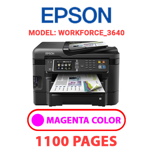 Workforce 3640 3 - EPSON Workforce_3640 - MAGENTA INK