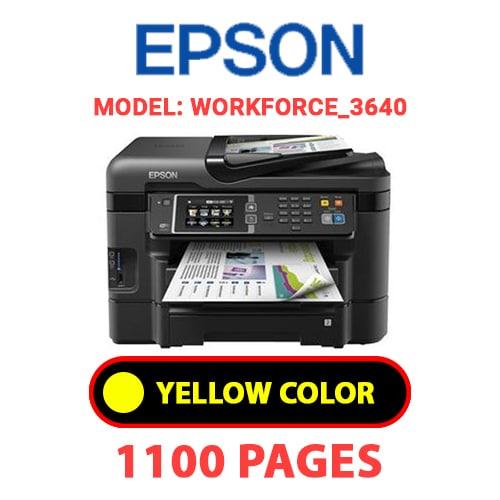 Workforce 3640 4 - EPSON Workforce_3640 - YELLOW INK
