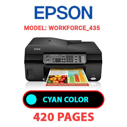 Workforce 435 1 - EPSON Workforce_435 - CYAN INK