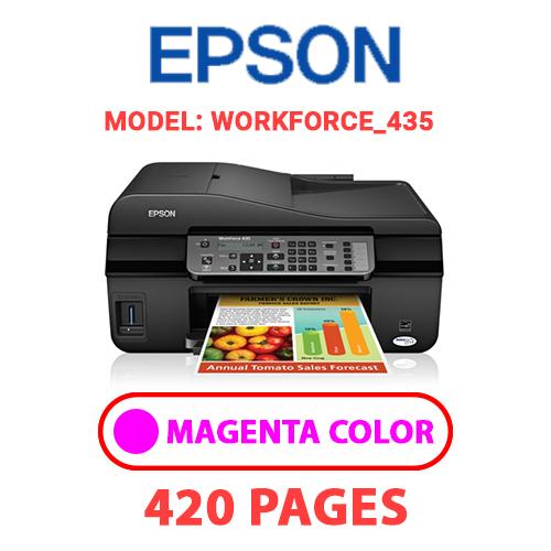 Workforce 435 2 - EPSON Workforce_435 - MAGENTA INK