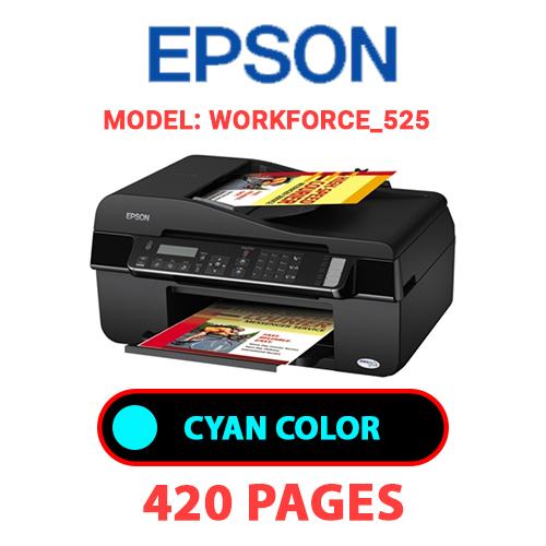 Workforce 525 1 - EPSON Workforce_525 - CYAN INK