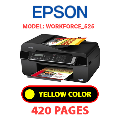 Workforce 525 3 - EPSON Workforce_525 - YELLOW INK