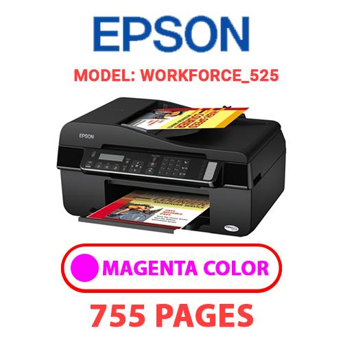 Workforce 525 5 - EPSON Workforce_525 - MAGENTA INK