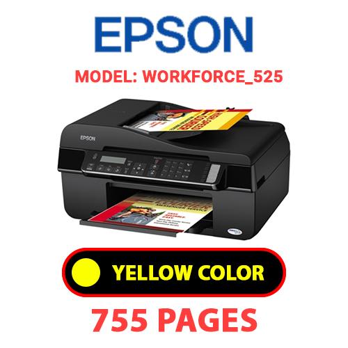 Workforce 525 6 - EPSON Workforce_525 - YELLOW INK