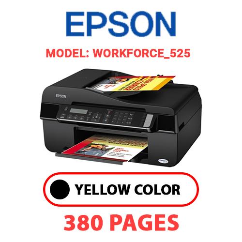 Workforce 525 - EPSON Workforce_525 - BLACK INK