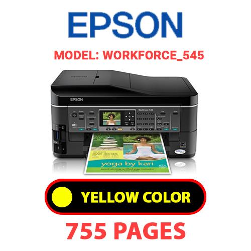 Workforce 545 1 3 - EPSON Workforce_545 - YELLOW INK