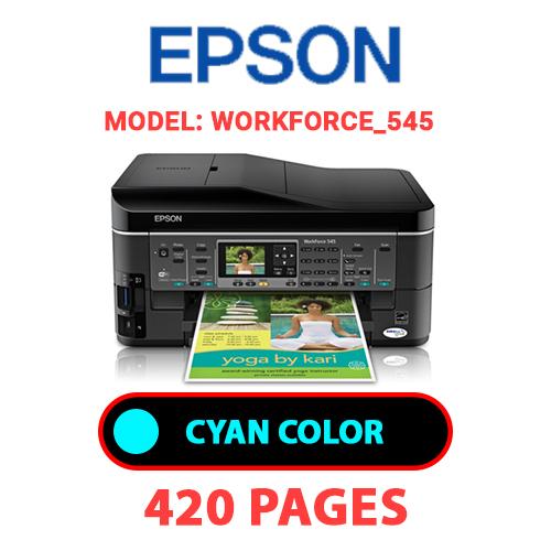 Workforce 545 1 - EPSON Workforce_545 - CYAN INK