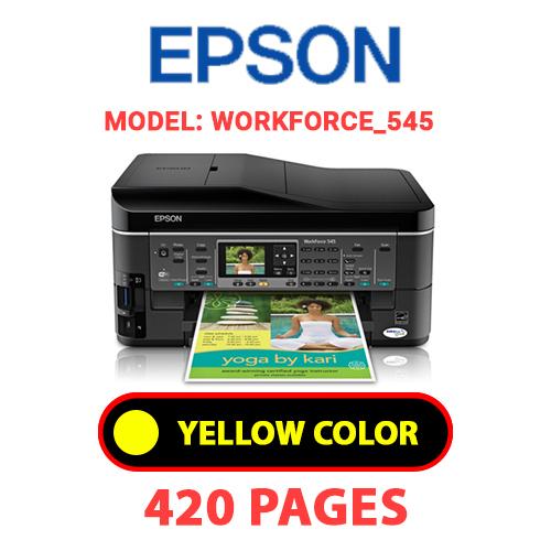 Workforce 545 3 - EPSON Workforce_545 - YELLOW INK