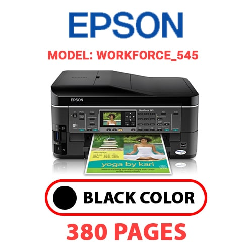 Workforce 545 4 - EPSON Workforce_545 - BLACK INK