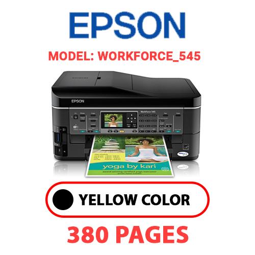 Workforce 545 - EPSON Workforce_545 - BLACK INK
