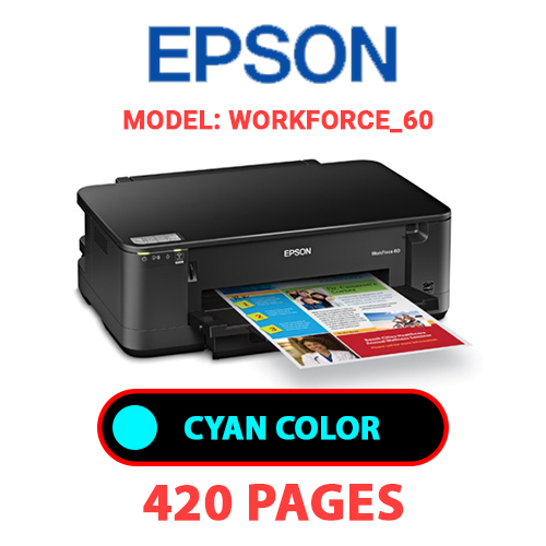 Workforce 60 1 - EPSON Workforce_60 - CYAN INK