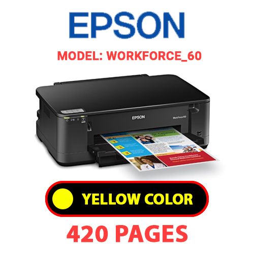 Workforce 60 3 - EPSON Workforce_60 - YELLOW INK