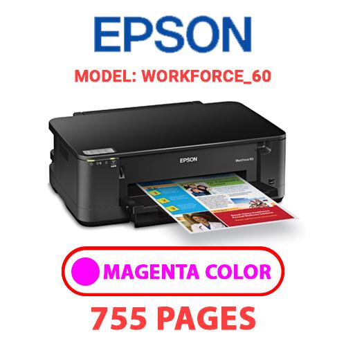 Workforce 60 6 - EPSON Workforce_60 - MAGENTA INK