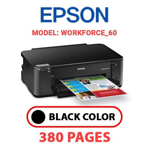 Workforce 60 8 - EPSON Workforce_60 - BLACK INK