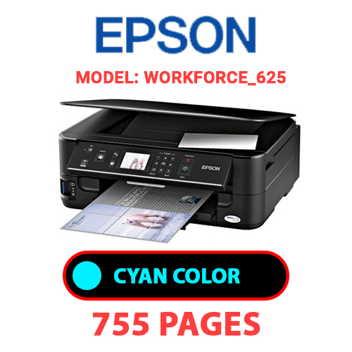 Workforce 625 5 - EPSON Workforce_625 - CYAN INK
