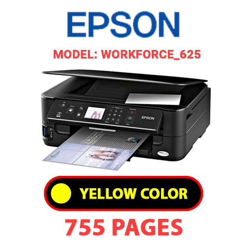 Workforce 625 7 - EPSON Workforce_625 - YELLOW INK