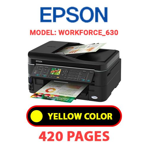 Workforce 630 3 - EPSON Workforce_630 - YELLOW INK