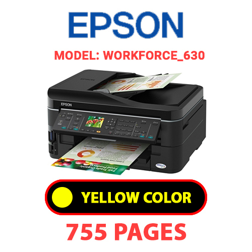 Workforce 630 7 - EPSON Workforce_630 - YELLOW INK