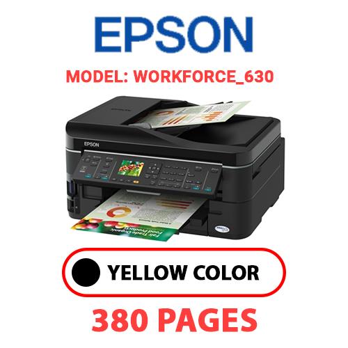 Workforce 630 - EPSON Workforce_630 - BLACK INK
