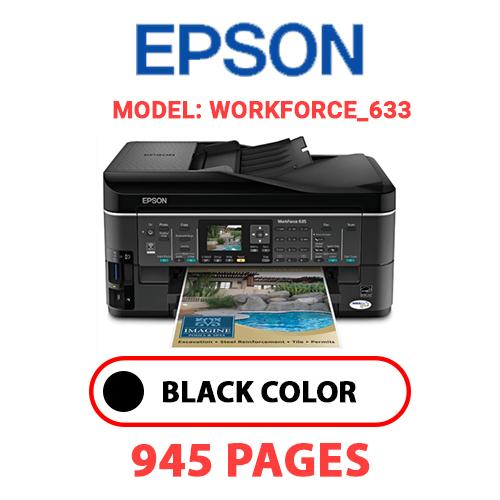 Workforce 633 - EPSON Workforce_633 - BLACK INK