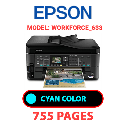 Workforce 633 1 1 - EPSON Workforce_633 - CYAN INK