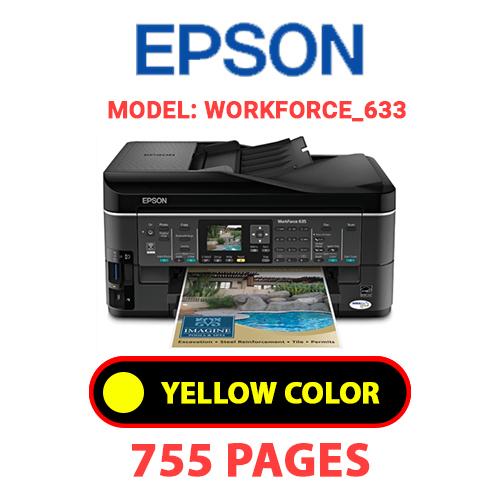 Workforce 633 1 3 - EPSON Workforce_633 - YELLOW INK