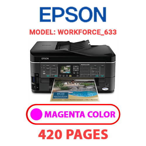 Workforce 633 2 - EPSON Workforce_645 - MAGENTA INK