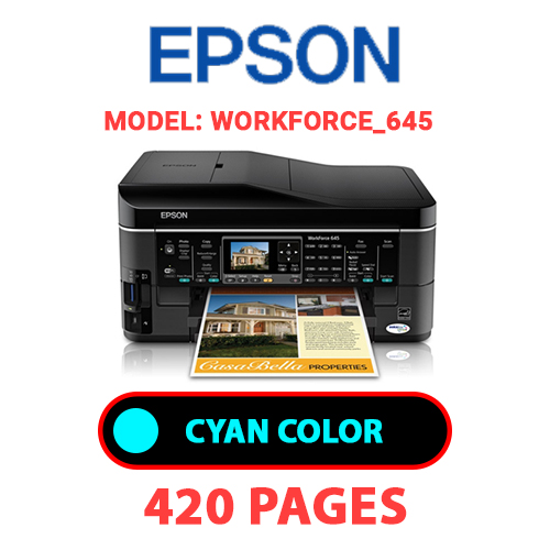 Workforce 645 1 - EPSON Workforce_645 - CYAN INK