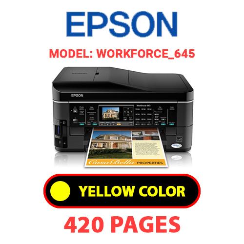 Workforce 645 3 - EPSON Workforce_645 - YELLOW INK