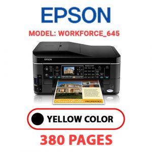 Workforce 645 - Epson Printer