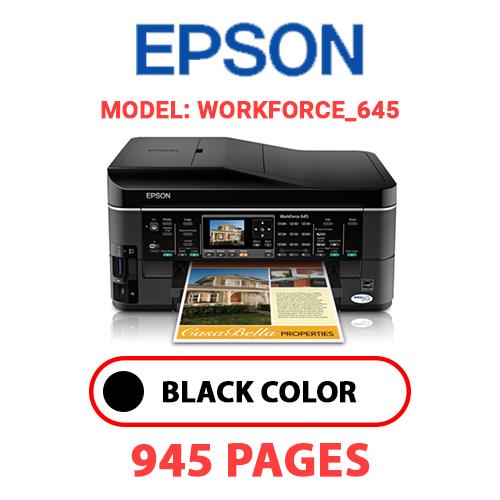 Workforce 645 4 - EPSON Workforce_645 - BLACK INK