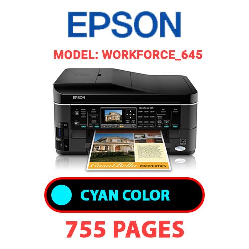 Workforce 645 5 - EPSON Workforce_645 - CYAN INK
